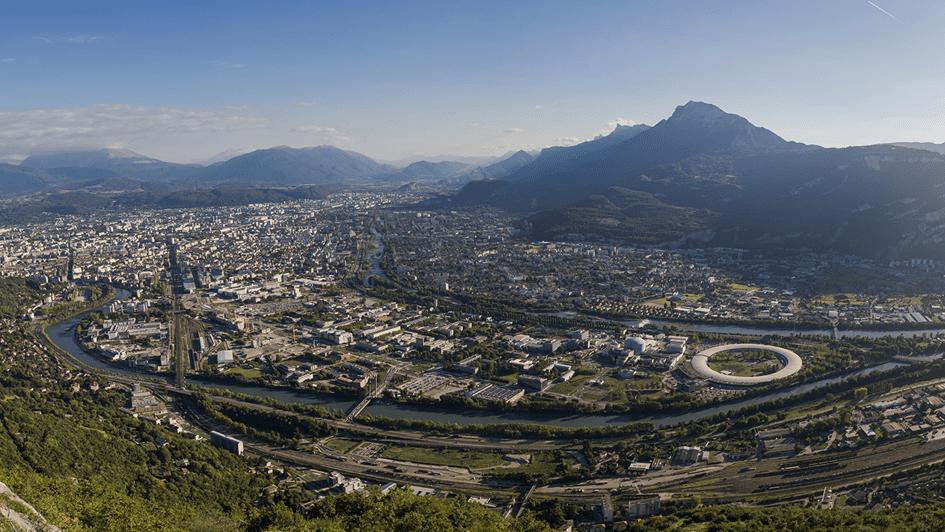 ESRF in Grenoble, France